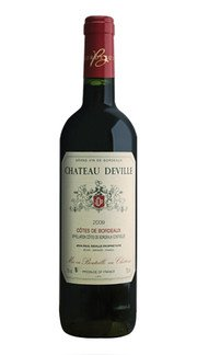 Cotes de Bordeaux Rouge Jean Paul Deville 2012