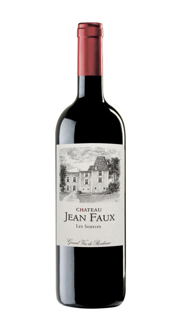 Bordeaux Rouge Superieur 'Les Sources' Chateau Jean Faux 2015