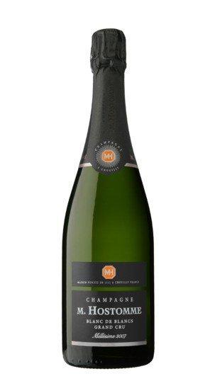 Champagne brut blanc de blancs grand cru hostomme 2007