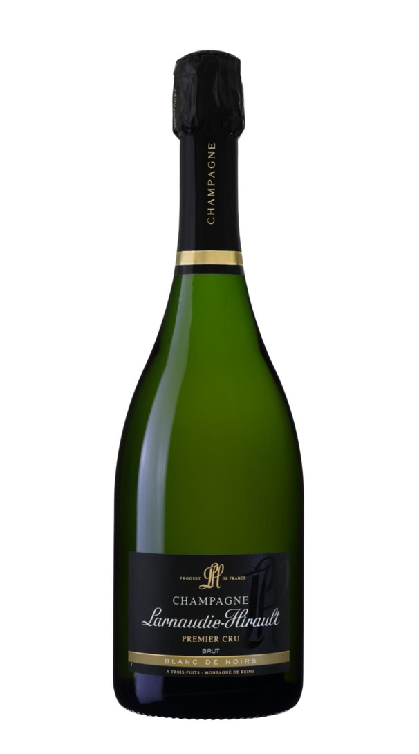 Champagne Brut Blanc de Noirs Premier Cru Larnaudie-Hirault