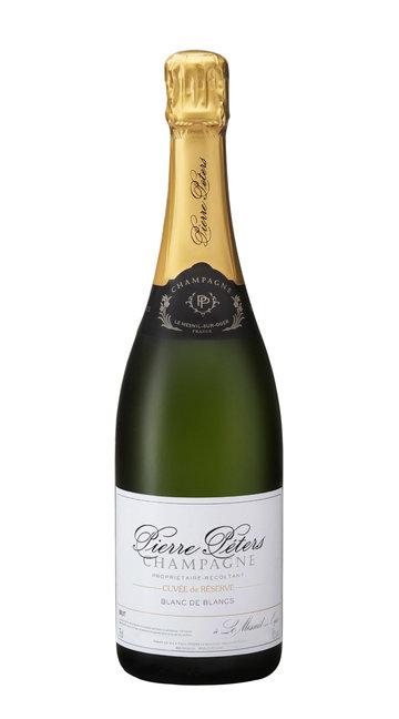 """Champagne Brut Blanc de Blancs Grand Cru """"Cuvée de Réserve"""" Pierre Péters"""