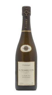 """Champagne Brut """"Le Nombre d'Or Integrale"""" Aubry 2012"""