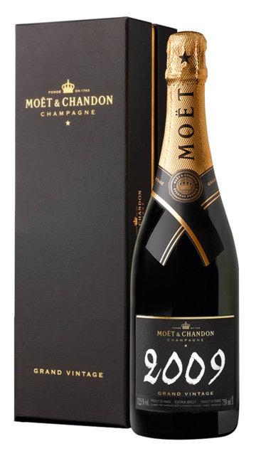 Champagne Extra Brut 'Grand Vintage' Moet & Chandon 2009 (confezione)