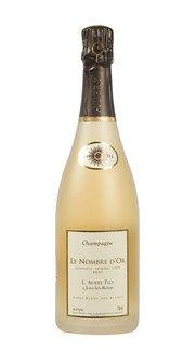 """Champagne Brut Blanc des Blancs """"Le Nombre d'Or Sablé"""" Aubry 2010"""