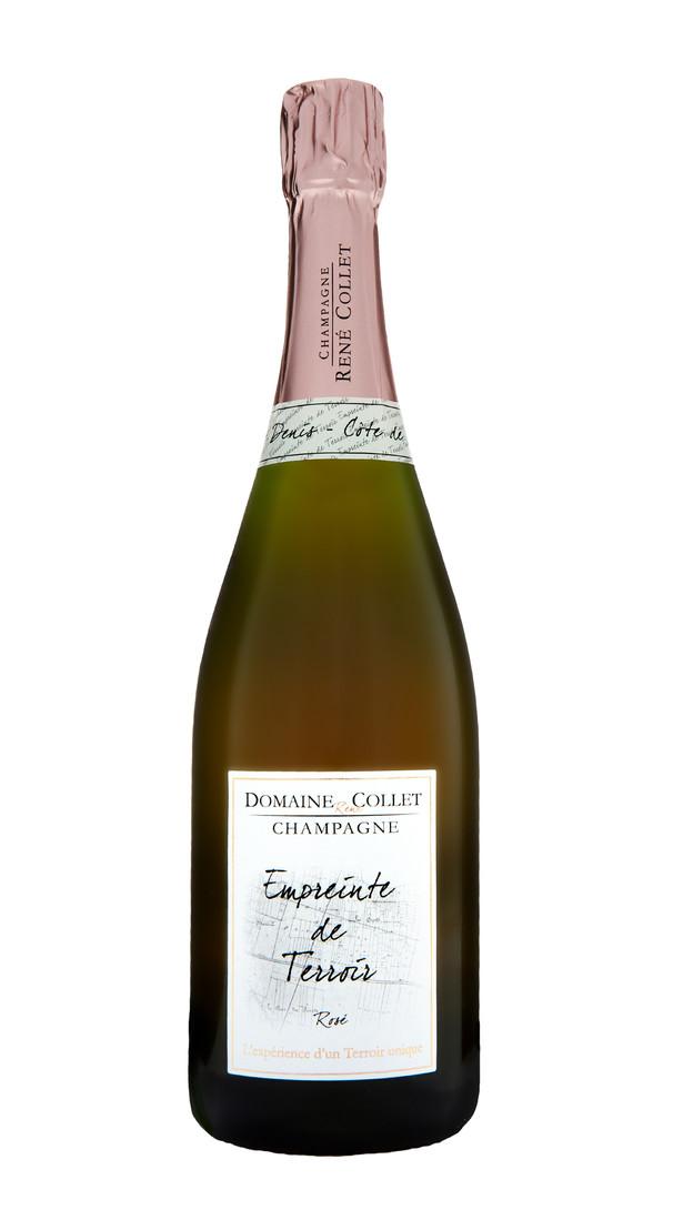 Champagne Rosé Brut 'Empreinte de Terroir' Domaine Collet