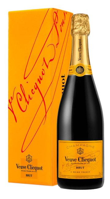 Champagne Brut 'Yellow Label' Veuve Clicquot (confezione)