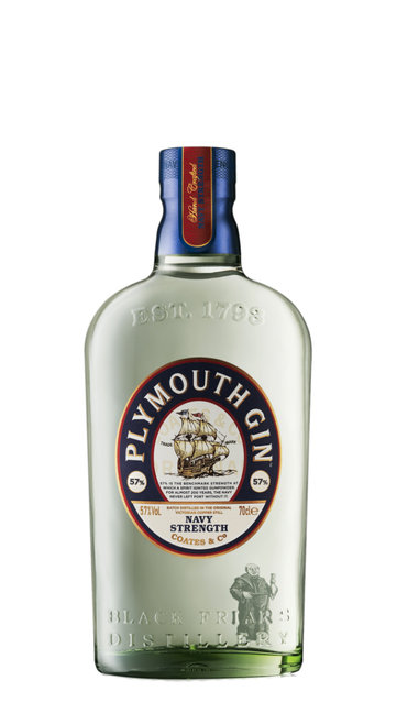 Gin 'Navy Strenght' Plymouth Black Friars Distillery