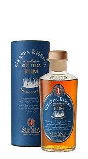 Grappa Riserva affinata in botti di Rum Sibona - 50 cl