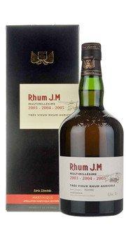 Rum Agricole Multimillésime 2003-2004-2005 J.M.