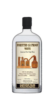 Rum Bianco 'Forsyths WP 151 Proof' Habitation Velier