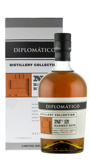 Rum 'Distillery Collection N° 2 Single Column Barbet' Diplomatico