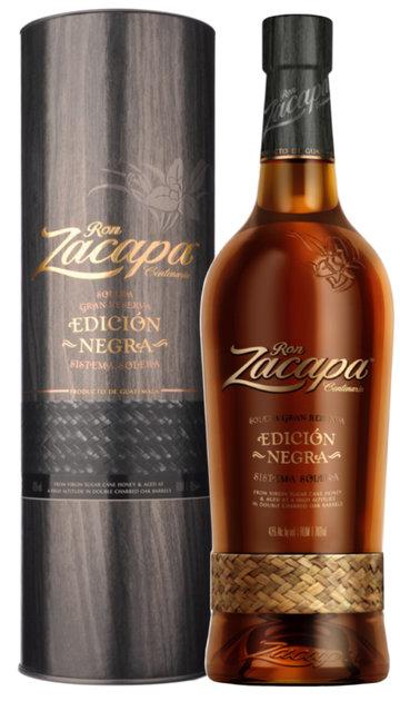 Rum 'Edicion Negra' Zacapa - 100 cl