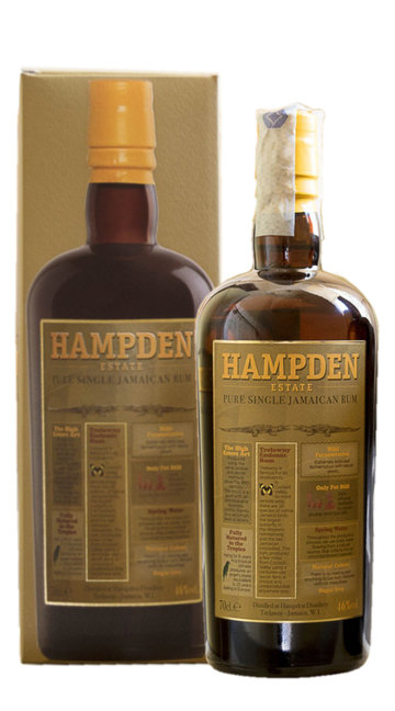 Rum 'Pure Single Jamaican' Hampden Estate
