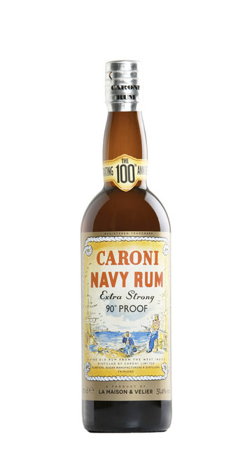 Rum Navy '90° Proof' Caroni - Velier