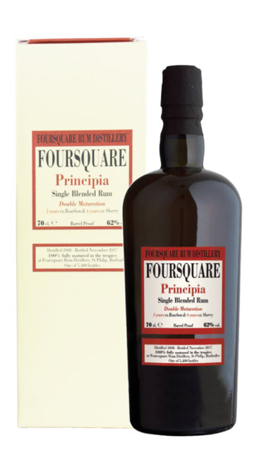 Rum Single Blended Double Maturation 'Principia' Foursquare