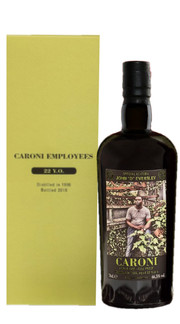 Rum Full Proof 'Employees John D Eversley' Caroni - Velier 1996-2018