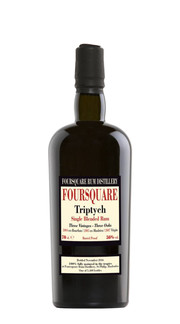 Rum Single Blended 'Triptych - Three Vintage 2004-2005-2006' Foursquare