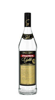 Vodka 'Gold' Stolichnaya - 100 cl