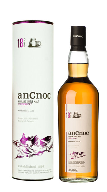 Whisky Single Malt AnCnoc 18 Anni