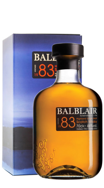 Whisky Single Malt Balblair 1983