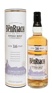 Whisky Single Malt BenRiach 16 Anni (confezione)