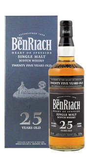 Whisky Single Malt BenRiach 25 Anni