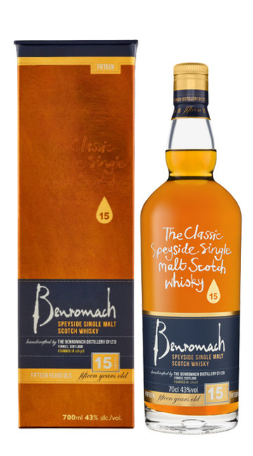 Whisky Single Malt Benromach 15 Anni