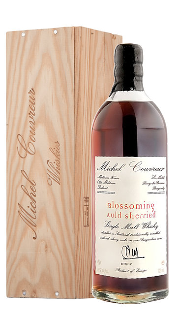 Whisky Single Malt 'Blossoming Auld Sherried' Couvreur