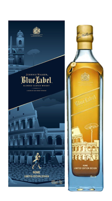 Whisky 'Blue Label - Rome Edition' Johnnie Walker