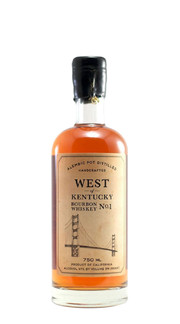 Whisky Bourbon 'West of Kentucky No. 1' Sonoma County