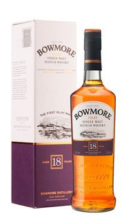 Whisky Single Malt Bowmore 18 Anni