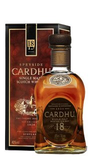 Whisky Single Malt Cardhu 18 Anni