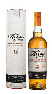 Whisky Single Malt Cask Strength Arran 12 Anni