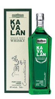 "Whisky Single Malt Port Cask Finish ""Concertmaster"" Kavalan"