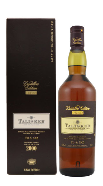 Whisky Single Malt 'Distillers Edition 2000' Talisker