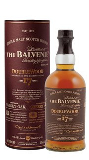 Whisky Single Malt Double Wood Balvenie 17 Anni
