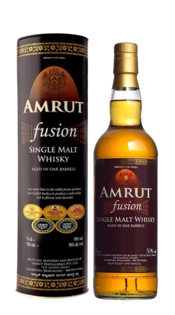 Whisky Single Malt 'Fusion' Amrut