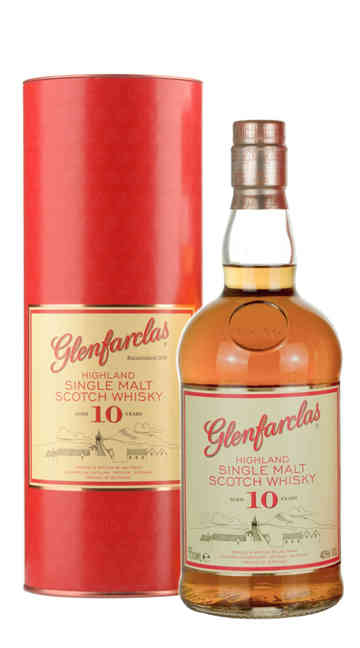 Whisky Single Malt Glenfarclas 10 Anni