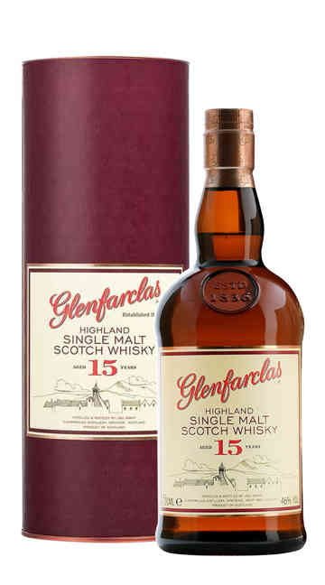 Whisky Single Malt Glenfarclas 15 Anni