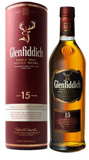 Whisky Single Malt Riserva Solera Glenfiddich 15 Anni - 100 cl