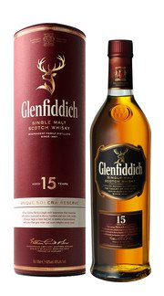 Whisky Single Malt Riserva Solera Glenfiddich 15 Anni