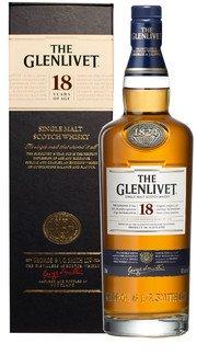 Whisky Single Malt Glenlivet 18 Anni - 100 cl