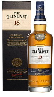 Whisky Single Malt Glenlivet 18 Anni - 100 cl