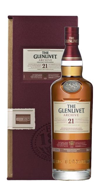 Whisky Single Malt Glenlivet 21 Anni