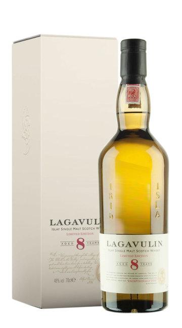 Whisky Single Malt Lagavulin 8 Anni (confezione)