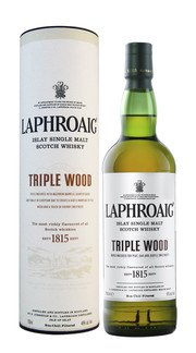 Whisky Single Malt Triple Wood Laphroaig