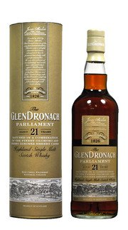 Whisky Single Malt 'Parliament' Glendronach 21 Anni
