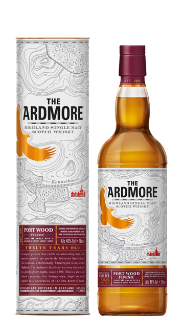 Whisky Port Wood Finish Ardmore 12 Anni