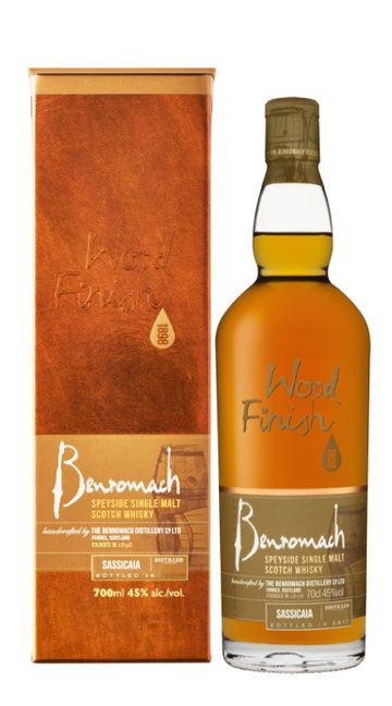 Whisky Single Malt 'Sassicaia Wood Finish' Benromach 2010