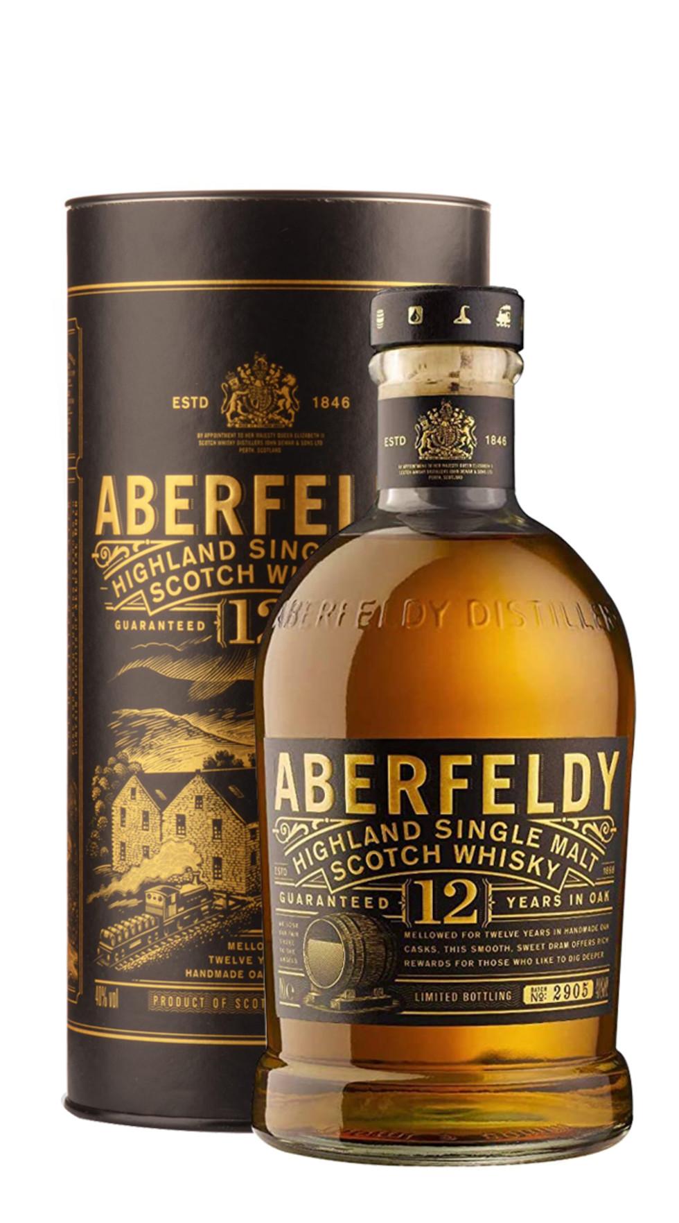 Aberfeldy scotch whisky single malt 12 anni 107346626